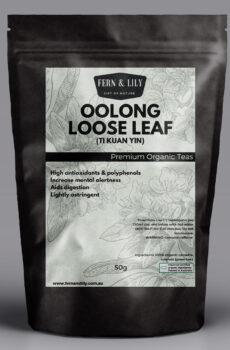 Oolong Iron Goddess Ti Kuan Yin 50g pack