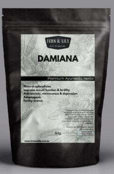 Damiana turnera diffusa 50g - Fern & Lily